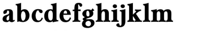 Caldicote Bold Font LOWERCASE