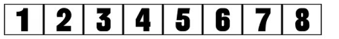 Calendar Blocks JNL Font LOWERCASE