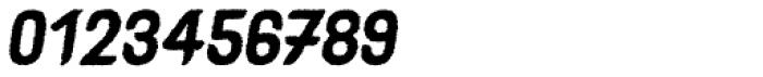 Caleuche Rough Oblique Font OTHER CHARS
