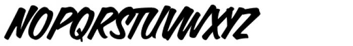 Calgary Script Font UPPERCASE
