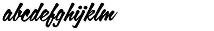 Calgary Script Font LOWERCASE