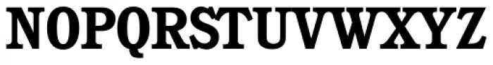 Calgary Serial Bold Font UPPERCASE