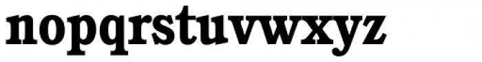 Calgary Serial Bold Font LOWERCASE