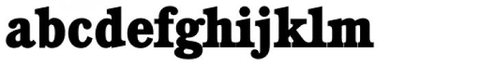 Calgary Serial ExtraBold Font LOWERCASE