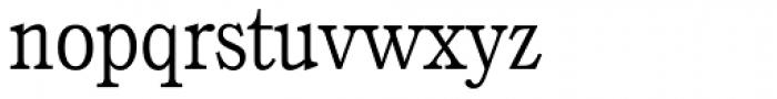 Calgary Serial ExtraLight Font LOWERCASE