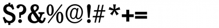 Calgary Serial Medium Font OTHER CHARS