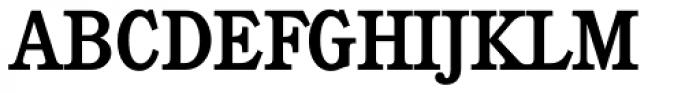 Calgary Serial Medium Font UPPERCASE