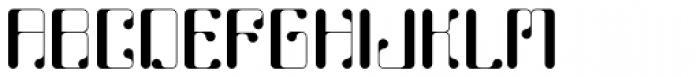 Calhoun Font UPPERCASE