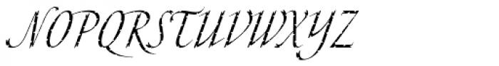 Cali Std Font UPPERCASE