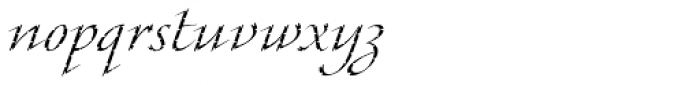 Cali Std Font LOWERCASE