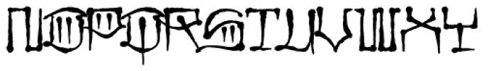 CaliCholo Standard Font UPPERCASE