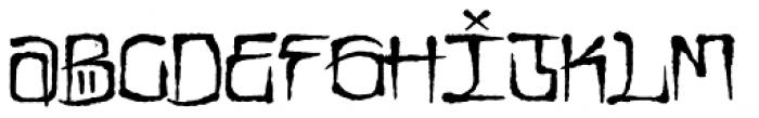 CaliCholo Standard Font LOWERCASE