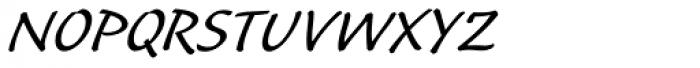 Caliban Std Font UPPERCASE