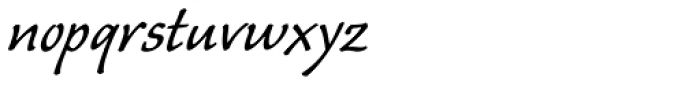 Caliban Std Font LOWERCASE