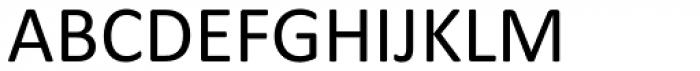 Calibri Font UPPERCASE