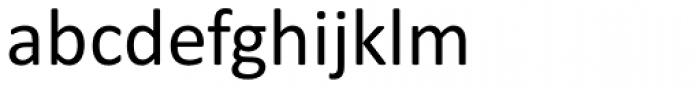 Calibri Font LOWERCASE