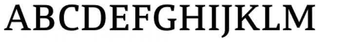 Calicanto Medium Font UPPERCASE