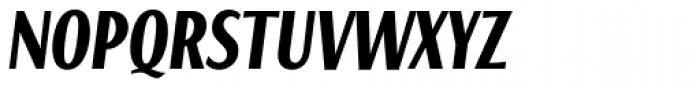 Caliente Bold Italic Font UPPERCASE