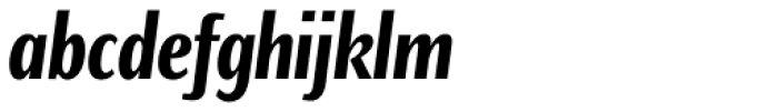 Caliente Bold Italic Font LOWERCASE