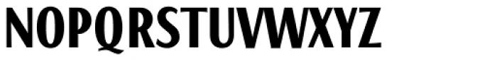 Caliente Bold Font UPPERCASE