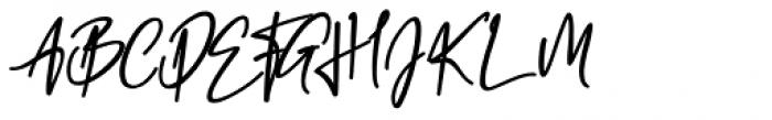 California Street Bold Font UPPERCASE