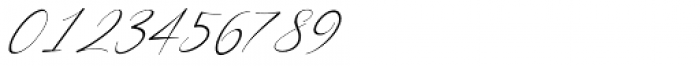California Street Thin Italic Font OTHER CHARS