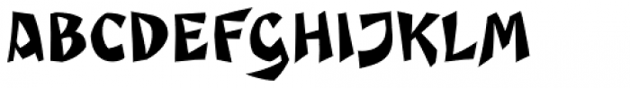Caligari Pro Regular Font UPPERCASE
