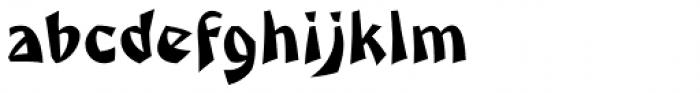 Caligari Pro Regular Font LOWERCASE