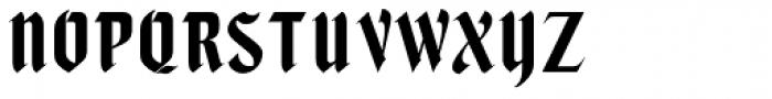 Caligra MN Font UPPERCASE