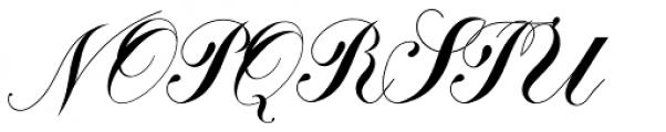 Calissa Pro Font UPPERCASE