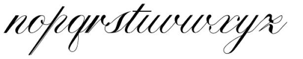 Calissa Pro Font LOWERCASE