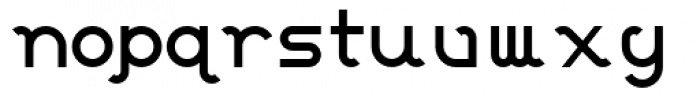 Calisso Standard Font LOWERCASE