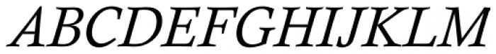 Calisto Std Italic Font UPPERCASE