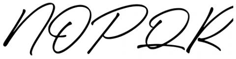 Caliway Alternate Font UPPERCASE