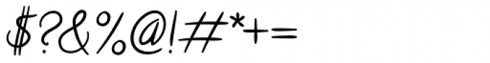 Calligraffiti Pro Font OTHER CHARS