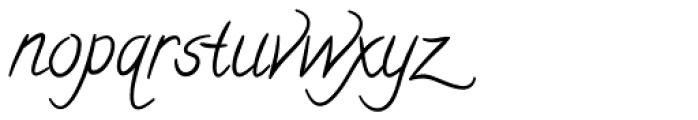 Calligraffiti Pro Font LOWERCASE