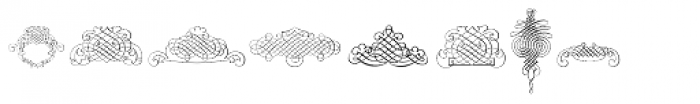 Calligraphia Latina Soft Five Font UPPERCASE