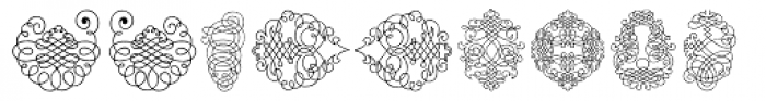 Calligraphia Latina Soft2 Font LOWERCASE