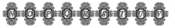 Calligraphia Latina Soft3 Lined Font UPPERCASE