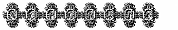 Calligraphia Latina Soft3 Shadow Font UPPERCASE