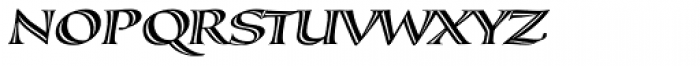 Calligraphica Italic Font UPPERCASE