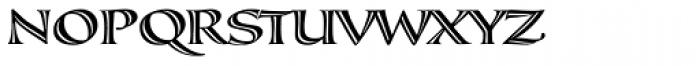 Calligraphica SX Font UPPERCASE