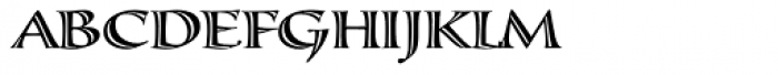 Calligraphica Font UPPERCASE