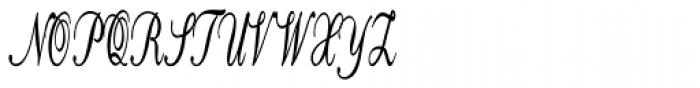 Calligri Extracondensed Bold Font UPPERCASE