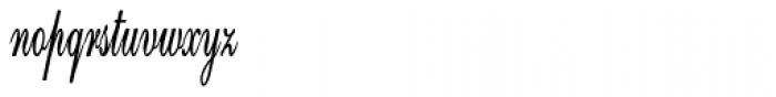 Calligri Extracondensed Bold Font LOWERCASE