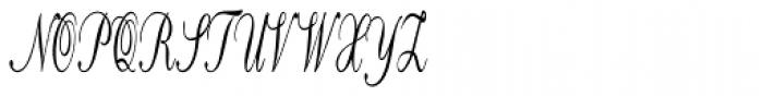 Calligri Extracondensed Regular Font UPPERCASE