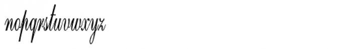 Calligri Extracondensed Regular Font LOWERCASE