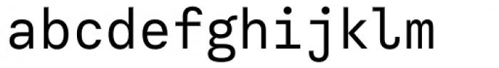 Calling Code Regular Font LOWERCASE