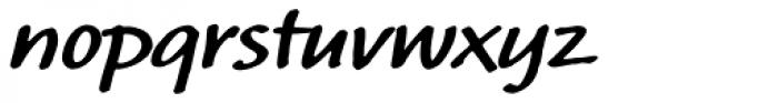 Calliope MVB Bold Font LOWERCASE