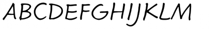 Calliope MVB Regular Font UPPERCASE